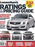 img - for Consumer Reports Ratings & Pricing Guide - 232 Cars,Trucks,SUV`s (June 2013) book / textbook / text book