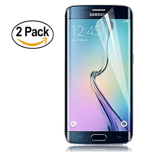 Galaxy S7 Edge Screen Protector, Safodo Premium HD Clear TPU Film Full Coverage