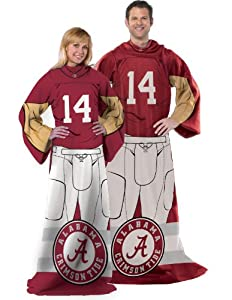 Brand New Alabama Uniform Adult Fleece Comfy Throw by Things for You