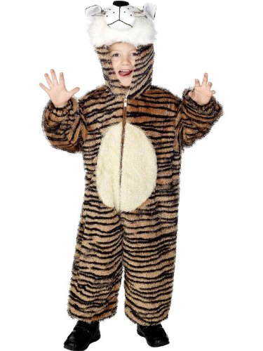 Tiger Child Costume With Hood Child