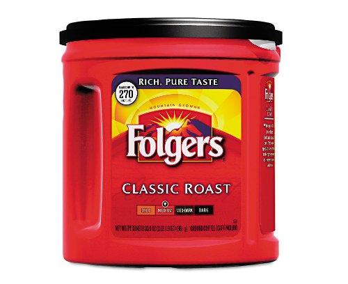 Folgers Coffee Classic Roast 33.9 Oz.