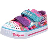 Skechers Twinkle Toes Classy Sassy Infant Neon Textile