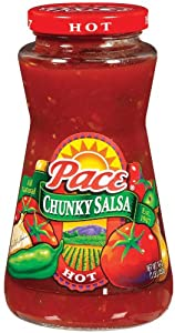 Pace 16oz Hot Chunky Salsa 3pack by CAMPBELLS