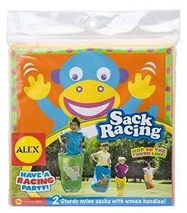 ALEX® Toys - Active Play Sack Racing - Frog/ Monkey 780FM