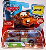 Disney Pixar Cars Chase Mater W/ Glow In The Dark Lamp #166