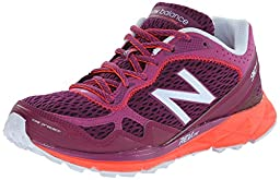New Balance Women\'s WT910V2 Trail Shoe, Purple/Orange, 8.5 D US