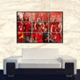 "LIVERPOOL FC POSTER PRINT 26.5 "" X 35.5 "" DIGITAL WALL ART"