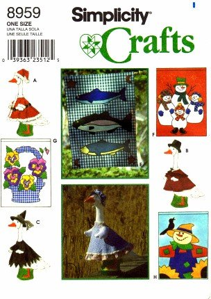 Simplicity Flags and Lawn Geese Clothing Pattern 8959 (Goose Clothes Patterns compare prices)