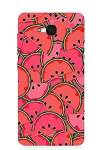 Back Cover for Redmi 2 Prime Watermelon