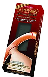 Superior 58-0600B Superskin Steering Wheel Cover, Genuine Leather, Size \