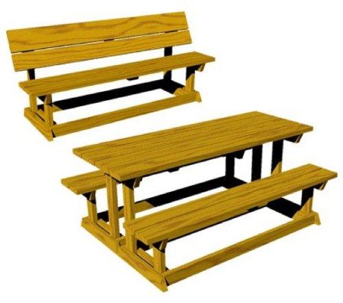 Bench Plan Cross Legged Picnic Table Plans Guide