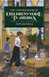 The Oxford Book of Children's Verse in America (Oxford Books of Verse)