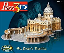 Puzz 3D St. Peters Basilica