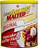 Golden Malted Pancake & Waffle Flour, Original, 33-Ounce Cans (Pack of 3)