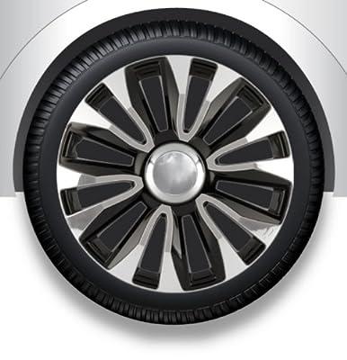 Radkappen/Radzierblenden 15 Zoll AVALONE chrome black von octimex - Reifen Onlineshop