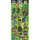 Ben 10 - Hero Time - Foil Sticker Pack - Sticker Style