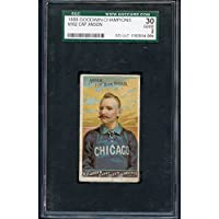 1888 N162 Goodwin Cap Anson White Sox SGC 30 GD 283896 Kit Young Cards