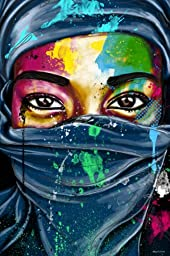 Maxwell Dickson ''Windows to the World'' Wall Art Canvas Print Pop Art Graffiti Artwork