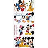 York Wallcoverings RMK1507SCS RoomMates Mickey & Friends Peel & Stick Wall Decal,