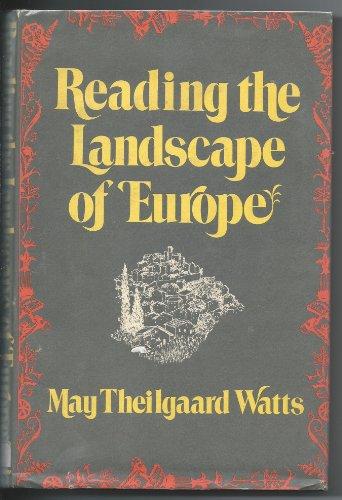 Reading the landscape of Europe PDF