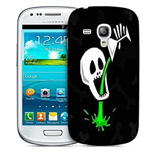 Snoogg Skull Drinking Poison 2787 Designer Protective Back Case Cover For Samsung Galaxy S3 Mini