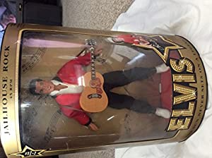 The Sun Never Sets on a Legend 1993 Elvis Doll, Jailhouse Rock Doll Hasbro 12 inch doll