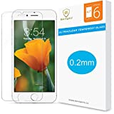 0.20mm iPhone 6S Screen Protector, Rayway - iPhone 6 6S Glass Screen Protector (4.7 inch ONLY)[3D Touch Compatible- Tempered Glass] Ultra-thin HD Screen Case Protection 99% Touch Accurate Fit