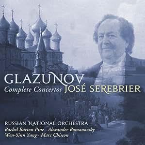 Glazunov:Complete Concertos