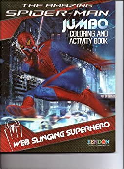 The Amazing Spider-Man Jumbo Coloring & Activity Book ...