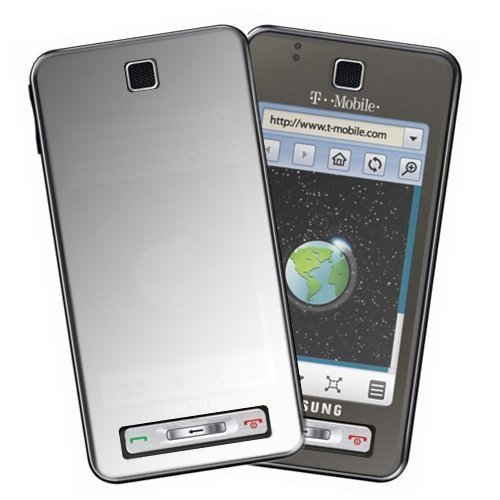 Durable Clear Reusable LCD Screen Protector - 3 Pcs for T-Mobile Samsung Behold T919 Cell Phone