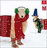 Children With Cancer Pack Of 5 Festive Sheep Charity Christmas Cards Xmas Packs