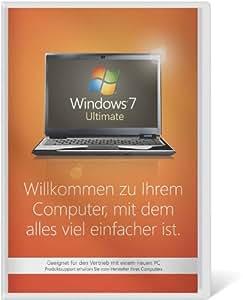 Windows 7 Ultimate 32 Bit OEM [Alte Version]