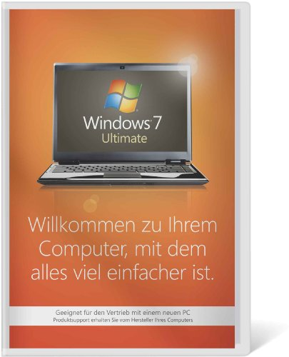 Windows 7 Ultimate 32 Bit OEM [Alte Version], PC