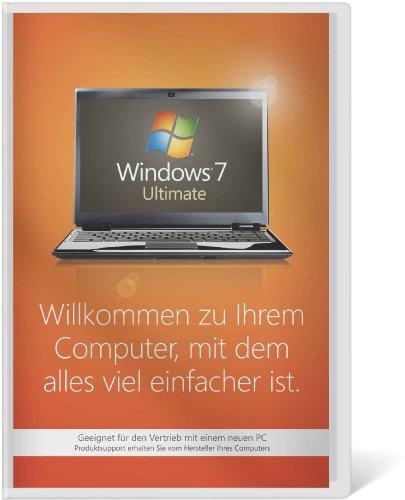 Windows 7 Ultimate 32 Bit OEM [Alte Version], PC