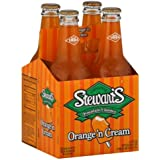 Stewart's Fountain Orange 'N Cream Classics Soda (Pack of 2)