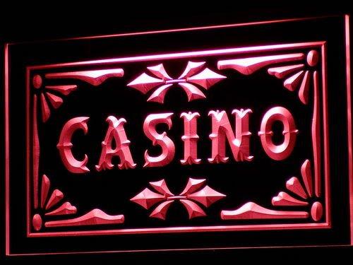 Casino Beer Pub Games Poker Bar LED Sign Neon Light Sign Display i708-r(c)