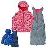 コロンビア スキー ウェア キッズ 子供 男の子 SC1092 SY1092 XXS,ピンク ジャケット パンツ 上下 セット