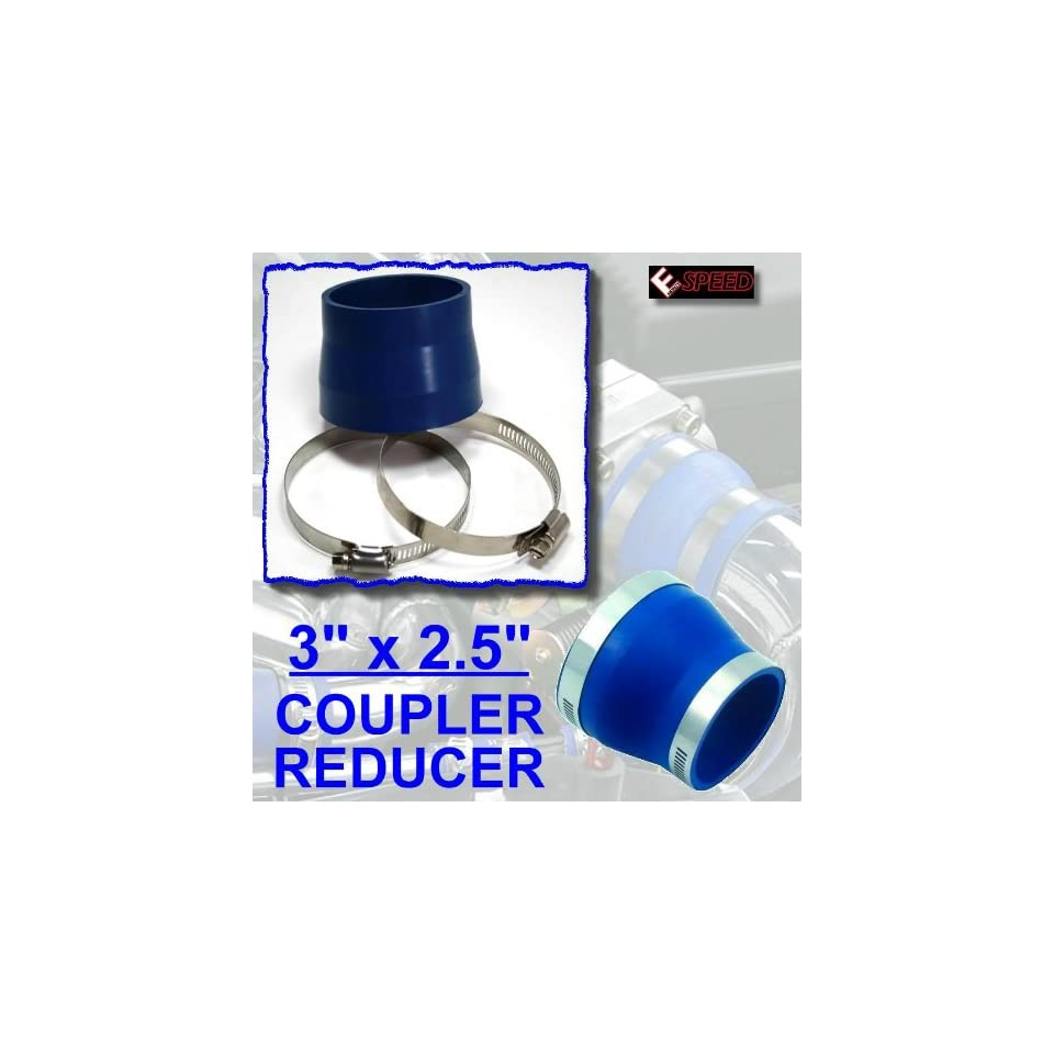 """BLACK 3/""""-4/"""" AIR INTAKE//PIPING RUBBER REDUCER COUPLER FOR DODGE"""