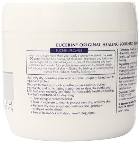Eucerin优色林经典产品,舒缓修复保湿霜,454g * 2瓶图片