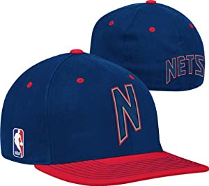 New Jersey Nets Kids 2011-2012 Authentic On-Court Flex Hat by adidas