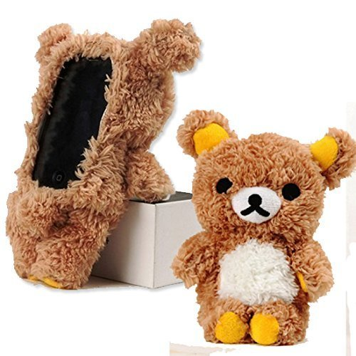 iPhone 6 Case, Palettes Maxx - 3d Lovely Cartoon Gund Teddy Bear Plush Case for iPhone 6 4.7 inch (Plush iphone 6 Case by MTOO) (Iphone 6 Case Bear compare prices)