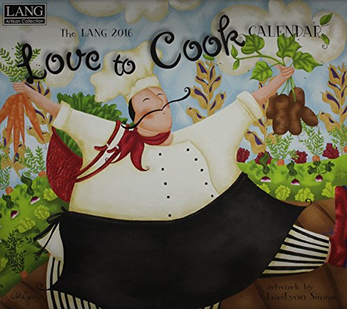 Love to Cook 2016 Calendar