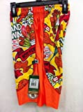 Flow Society Authentic Lacrosse Gear Lax Hot and Spicy Wings Dazzle Mesh Short Youth Small