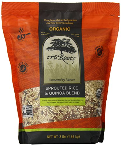 truRoots Organic Sprouted Rice and Quinoa Blend Bag, 3 lbs (Tru Roots Brown Rice compare prices)
