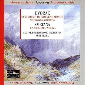 Dvorak : Symphonie du nouveau monde smetana : La moldau