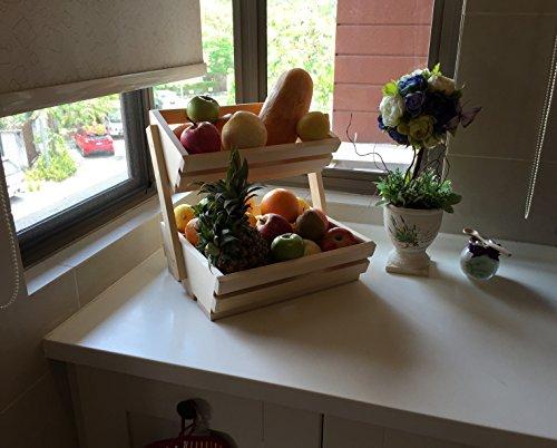 Countertop Vegetable Storage : ... Vegetables, Storage, Holder & Organizer For Your Kitchen Counter