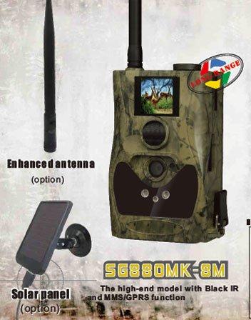 Scoutguard Sg880Mk-8M Black Ir Wireless Mms/Gprs Long Range Outdoor Trail Scouting Hunting Game Camera