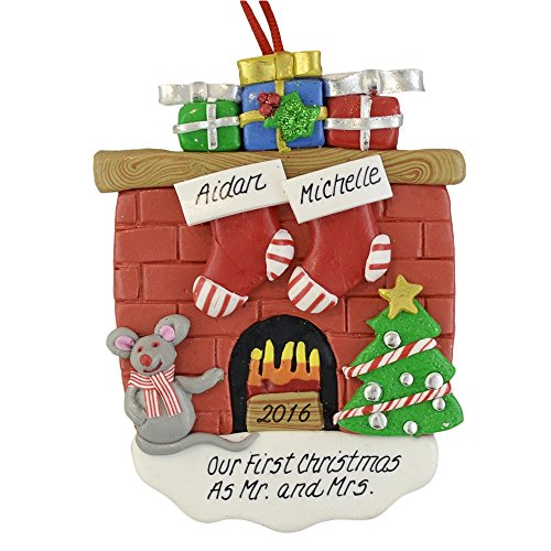 A First Christmas as Mr. and Mrs Personalized Ornament