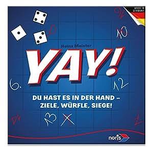 Noris Spiele 606101096 - YAY, Familienspiel