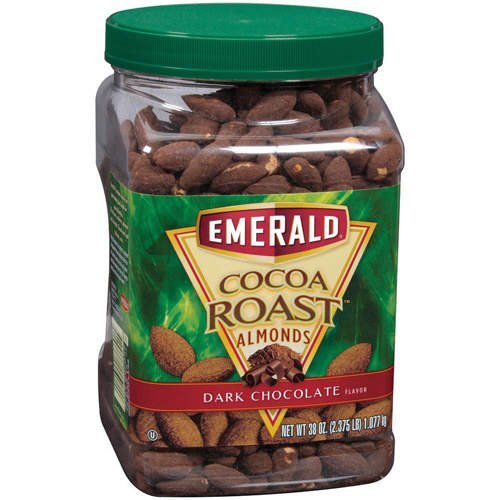 Emerald Cocoa Roast Dark Choc Almonds 38oz